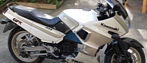 Home-Made Electric Kawasaki GPX 750R Motorcycle [Photo Gallery][Video]
