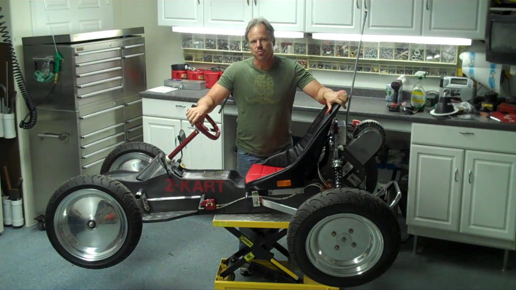 George Fortin S Z Kart The Internet Is Filled With Videos Of Home Made Electric Vehicles