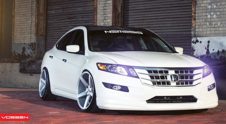 Lowered Honda Accord Honda Accord Crosstour on