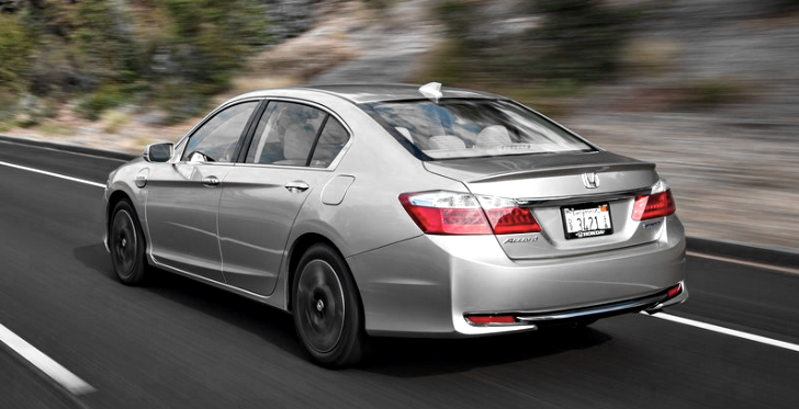 Honda Accord Plug-In Hybrid Is America's Most Fuel Efficient Sedan