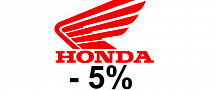 Honda Announces 5% Motorcycles Sales Drop in 2012