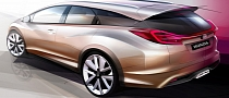 Honda Announces Civic Wagon and NSX Concepts for Geneva 2013
