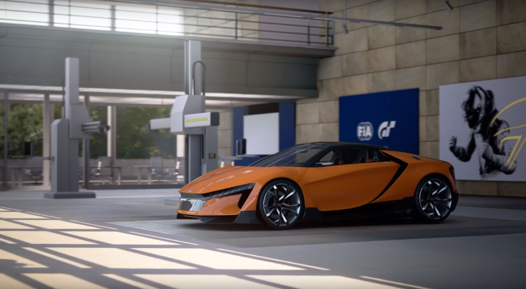 Honda Baby Nsx Coming Soon To The Streets Of Gran Turismo On Ps4