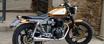 Honda CB450DX Tracker by Motobike Badajoz [Photo Gallery]