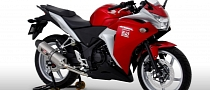 Honda CBR250R Gets Street Sport Exhausts from Yoshimura