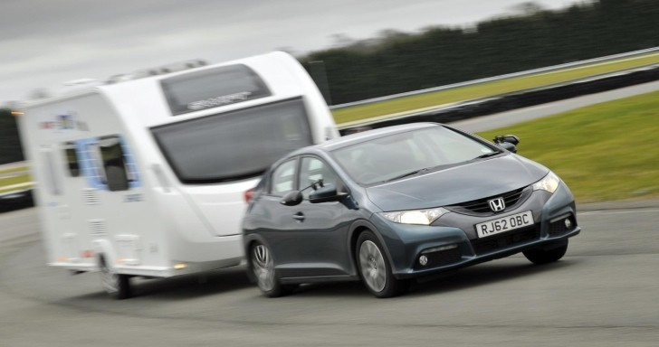 Honda Civic 1 6 I Dtec Named Green Tow Car Of The Year