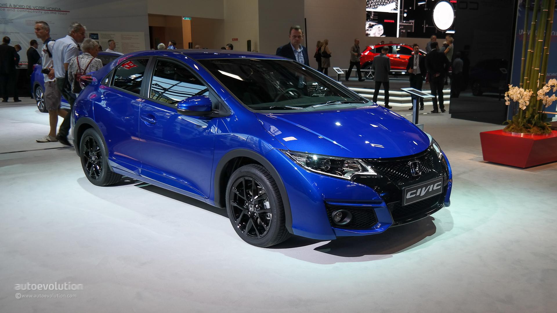 Honda Civic 5-Door Hatchback Coming to the US in 2016 - autoevolution