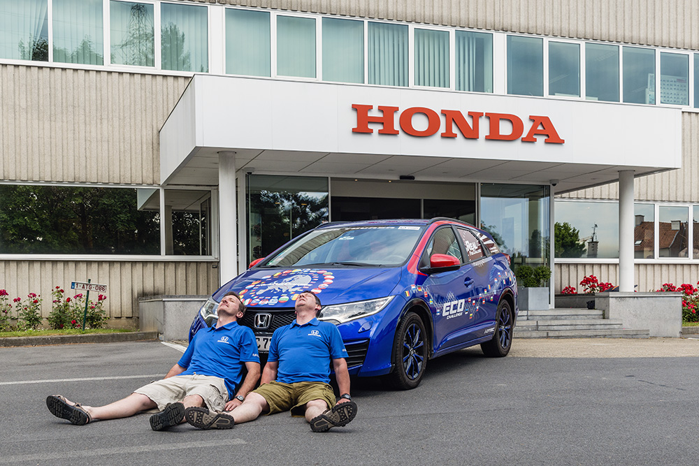 Honda Civic Sel Sets New World Record For Lowest Fuel Consumption