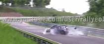 Honda Civic Driver Has Terrible Crash at the Nurburgring [Video]