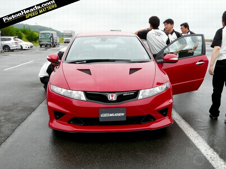 honda civic fn2 type r mugen first drive autoevolution. Black Bedroom Furniture Sets. Home Design Ideas