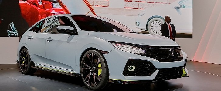 Honda Civic Hatchback Coming To New York Civic Si And New Type R In