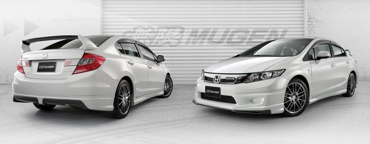 Honda civic sedan gets mugen treatment autoevolution