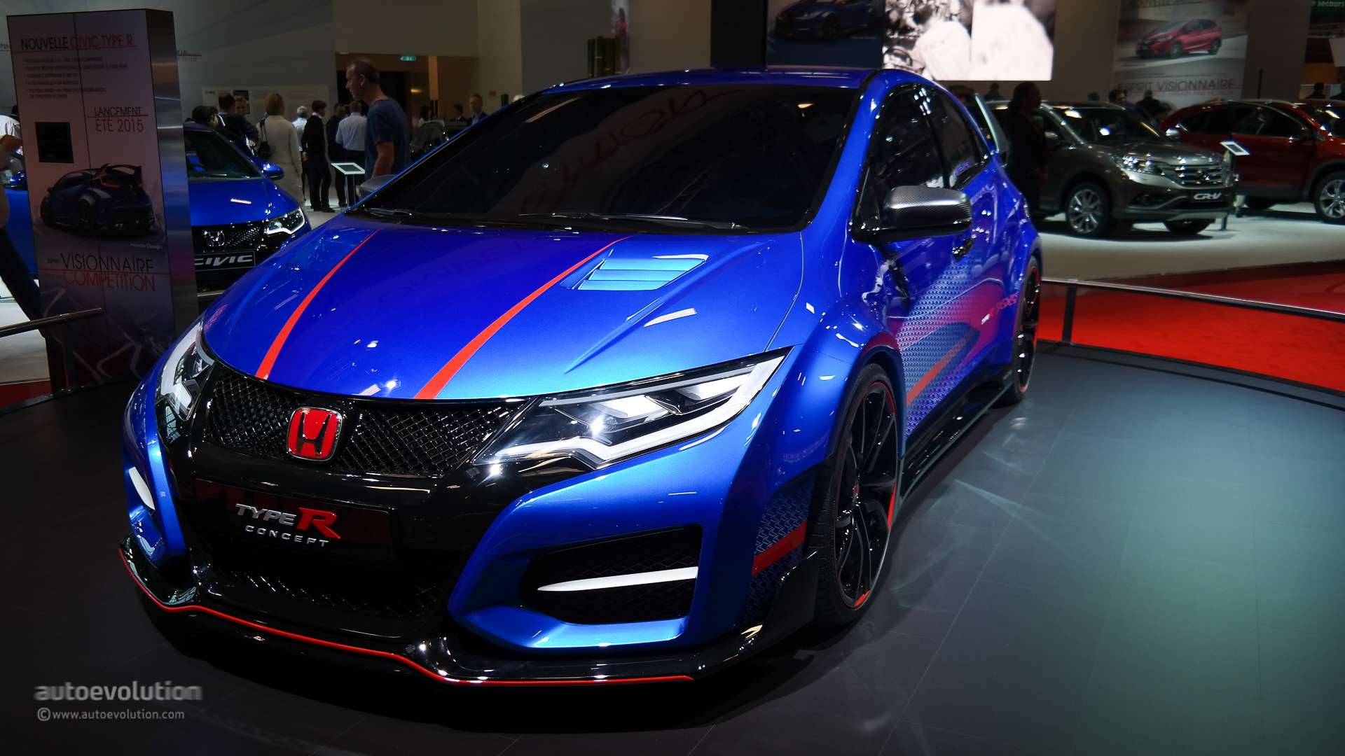 Honda Civic Type R Concept Ii Looks Awesome In Paris
