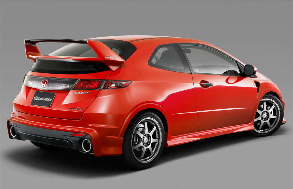 honda civic type r mugen uk pricing announced autoevolution. Black Bedroom Furniture Sets. Home Design Ideas