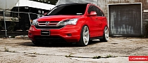 Honda CR-V on Vossen Wheels [Photo Gallery]
