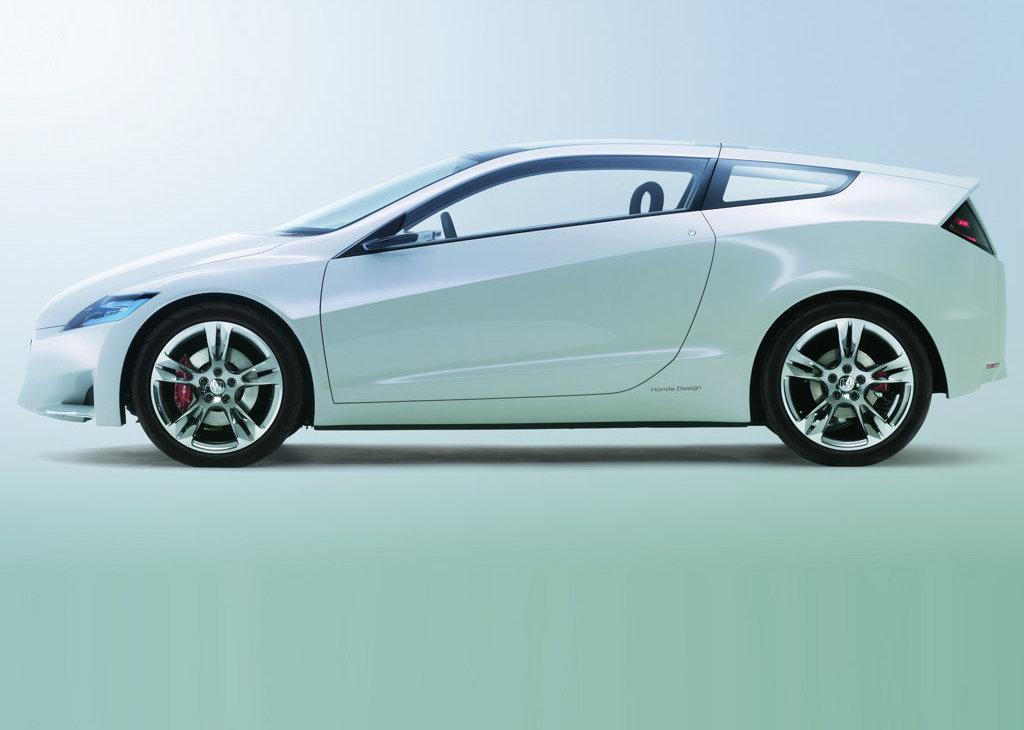 Honda CR-Z Concept Based Hybrid Sports Car - autoevolution