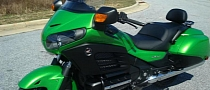 Honda Details the F6B Deluxe Package, Custom Green One Spotted