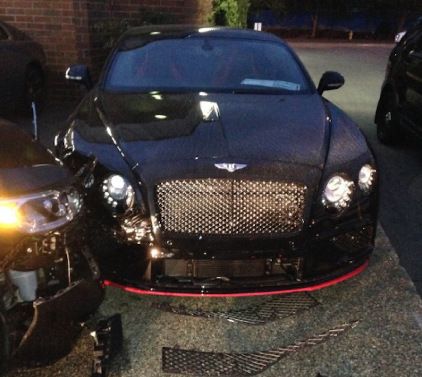 Honda Driver Repeatedly Rams Into Bentley And Rolls-Royce