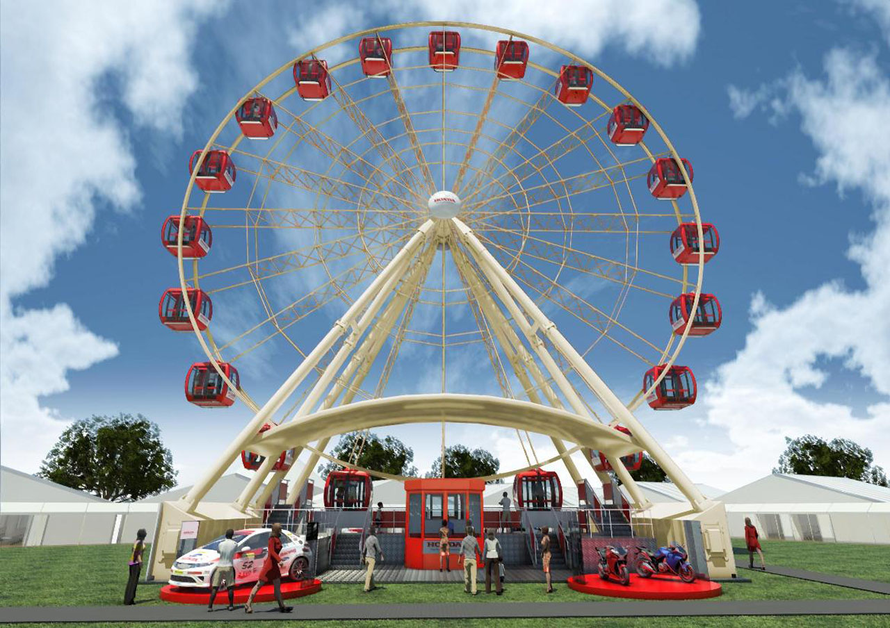 Honda Eye Brings Carnival Theme To Goodwood With Ferris