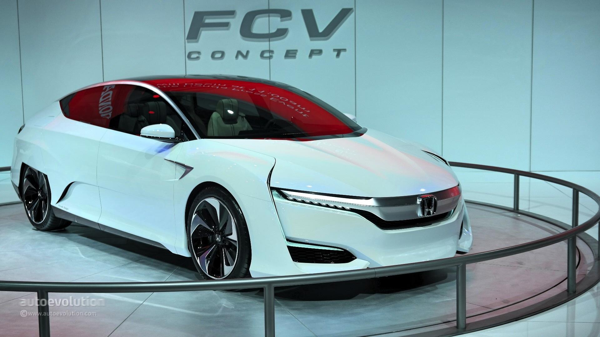 29 Photos Honda Fcv Concept