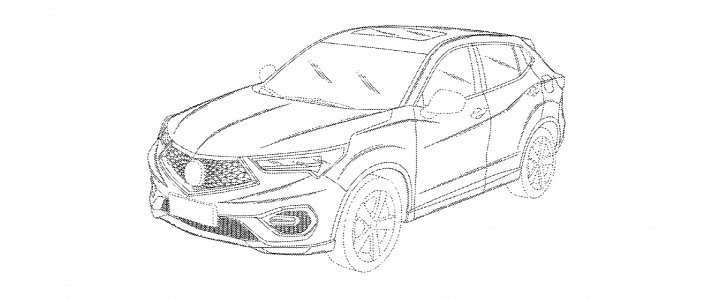 Honda Files U S Design Patent For Acura Cdx Are You Surprised