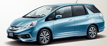 Honda Fit Shuttle Gets a Minor Update, Still Ugly Though [Photo Gallery]