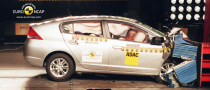Honda Insight Gets 5 Star Euro NCAP Rating