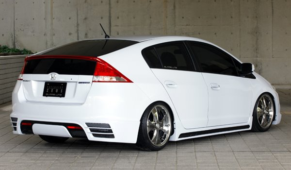 Honda Insight Hybrid Tuned By Exclusive Zeus Autoevolution