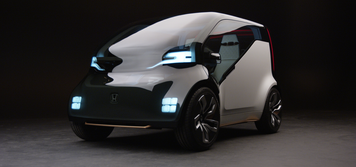 Honda Introduces The Neuv Concept A Two Seater That Makes Money