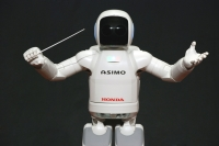 The tiny Asimo is one of the few sustainable products still part of Honda's future plans