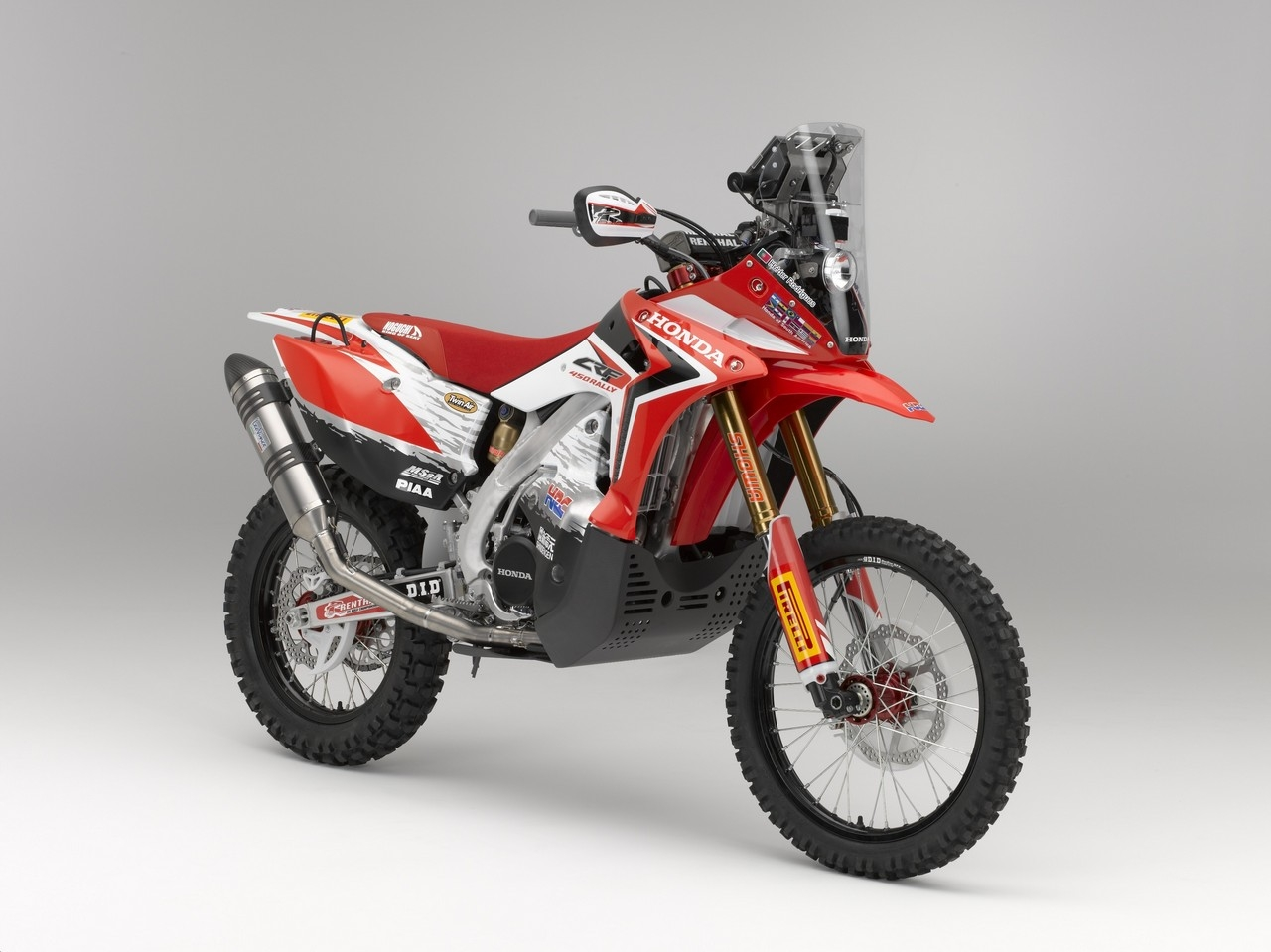 Honda Launches Dakar Assault With The New Crf 450 Rally Autoevolution