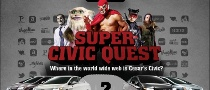 Honda Launches The Super Civic Facebook Quest [Video]
