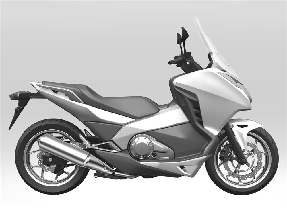 honda leaks production new mid scooter images autoevolution. Black Bedroom Furniture Sets. Home Design Ideas
