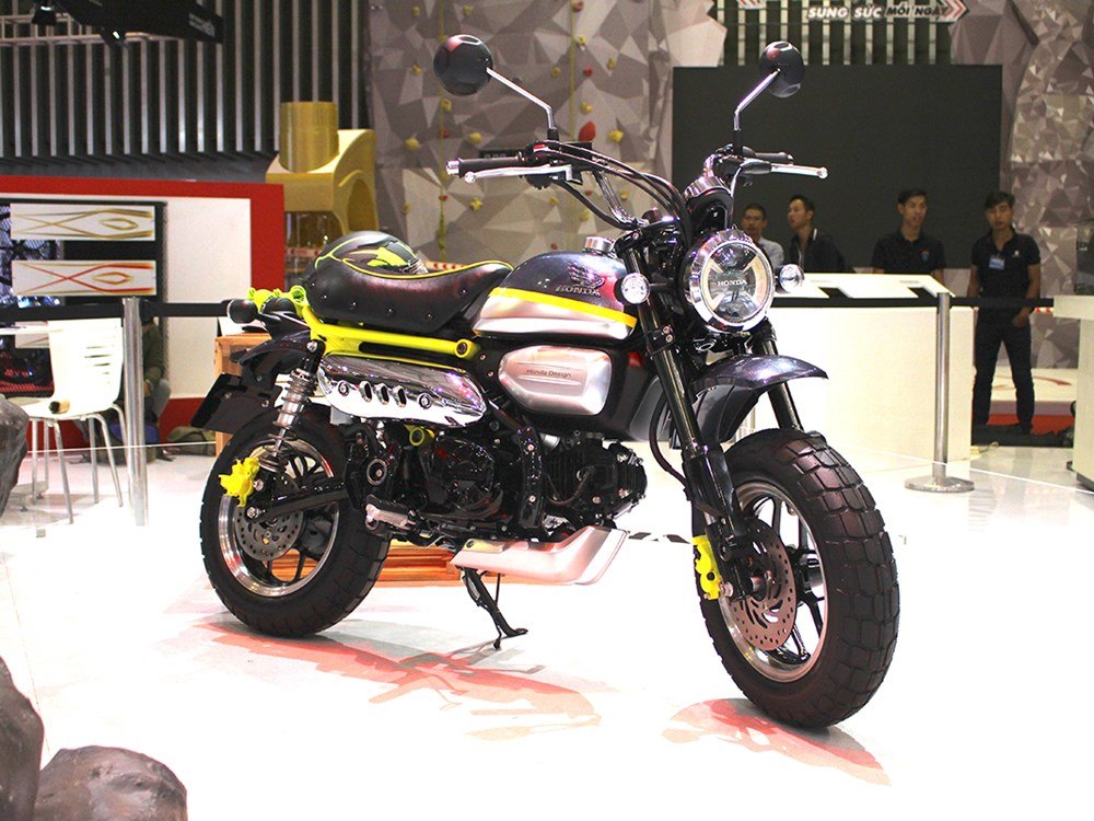 Honda Monkey 125 Concept Pops Out In Vietnam - autoevolution
