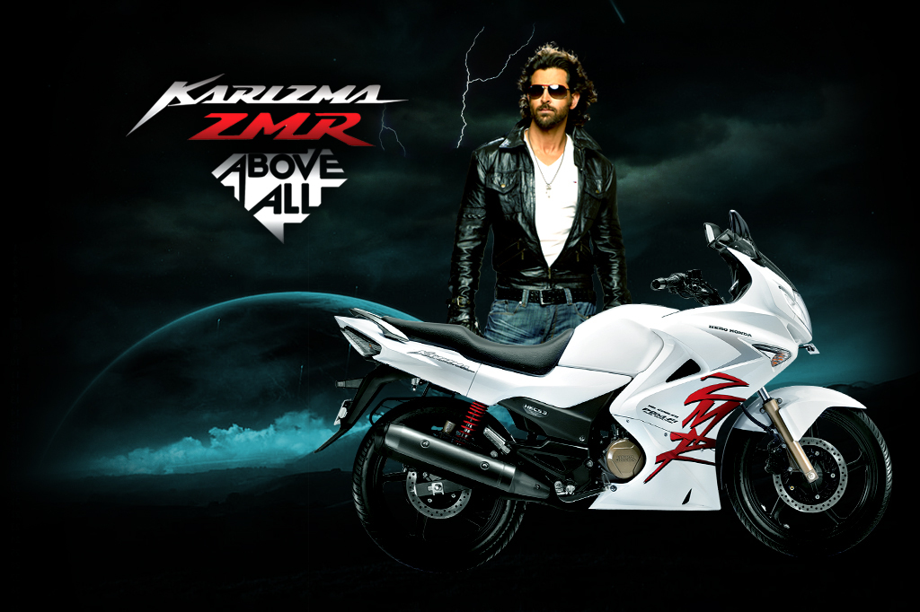 Karizma ZMR Japanese Motorcycle Manufacturer Honda