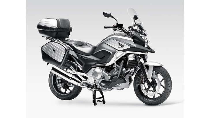 Honda NC700X Receives Hepco & Becker Skidplate, New Tank Bag