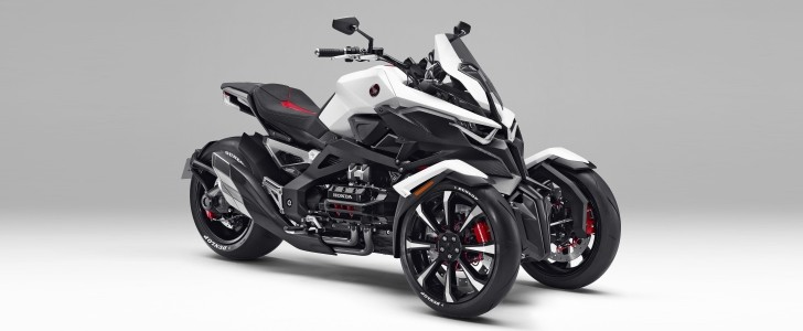 Honda Neowing Concept Marries the Piaggio MP3 to the Can ...