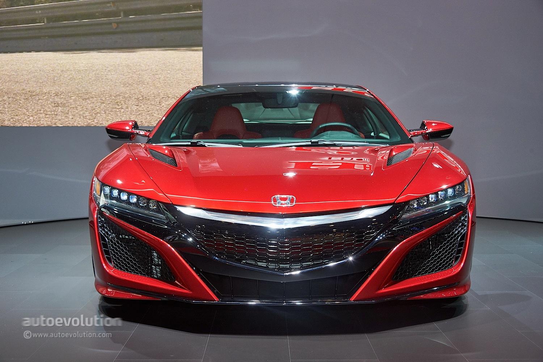 Honda Nsx Reborn As A Hybrid Supercar At Geneva 2015 Video Live