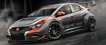 Honda Previews 2014 WTCC Civic Hatch