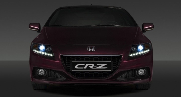 Honda Previews CR-Z Facelift ahead of Paris