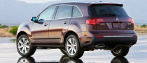 Honda Recalls 2010 Acura MDX in the US