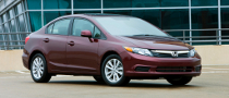 Honda Recalls 2012 Civic Over Fuel Feed Line Issue