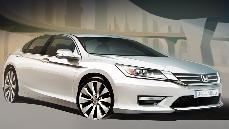Honda Releases European and Russian Accord Sketches ...