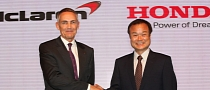 Honda Returning to F1 in 2015 as McLaren Engine Supplier