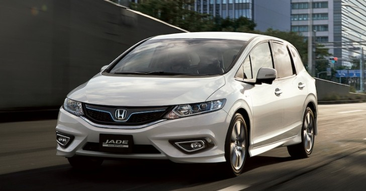 Honda Reveals New Jade Hybrid 6-Seater in Japan - autoevolution
