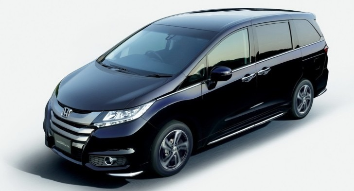 Honda Reveals New Odyssey and Odyssey Absolute in Japan [Photo Gallery]