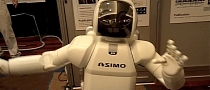 Honda's ASIMO Stealing Your Dance Moves [Video]