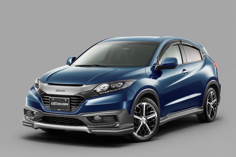 Honda's Vezel Small SUV Gets Mugen Tuning - autoevolution