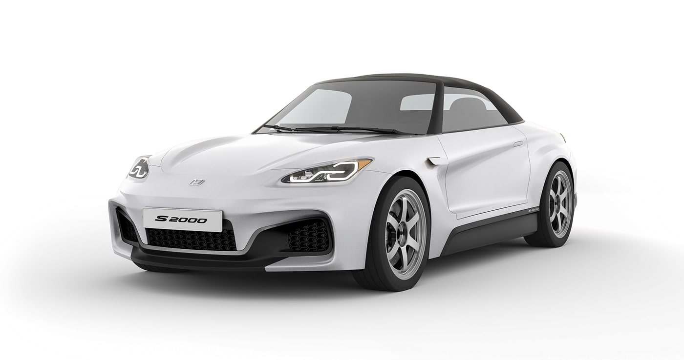 Honda S2000 Successor Imagined With Digital Mirrors By Seat Designer Autoevolution