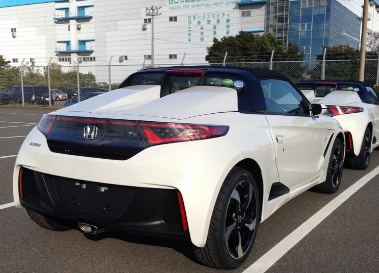 Honda S660 Kei Roadster Spied Undisguised In Japan Autoevolution